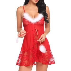 Other - NEW✨ Santa Christmas Lingerie Nightie Sleep Dress